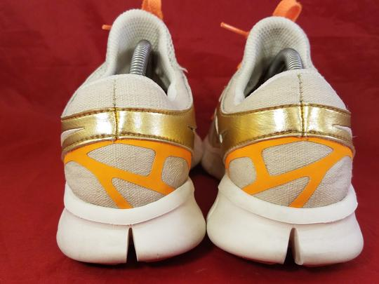 Nike gold and beige Athletic Image 4