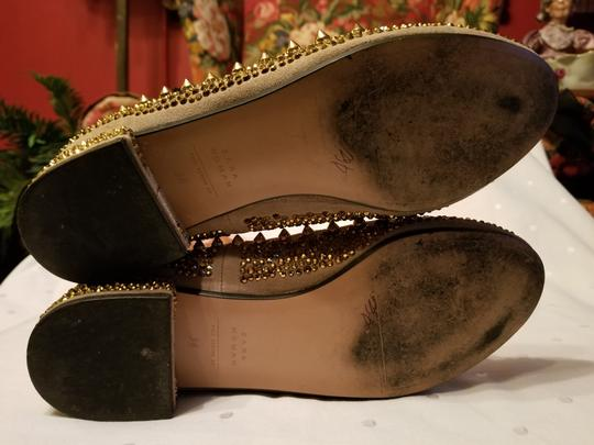 Zara Beige and Gold Flats Image 11