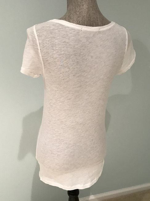 J.Crew Tees Tops Size Small Tees Embellished Tees T Shirt Multi-Colored Image 7