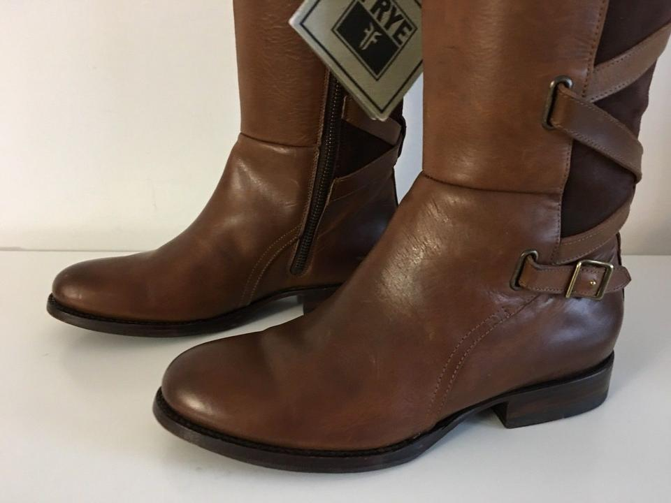 9280efe4ca0 Frye Light Brown Womens Jordan Strappy Tall 6-b Boots/Booties Size US 6  Regular (M, B) 72% off retail