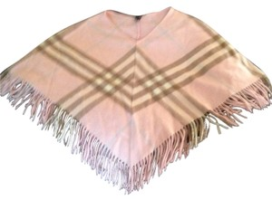 Burberry Pink classic Burberry poncho