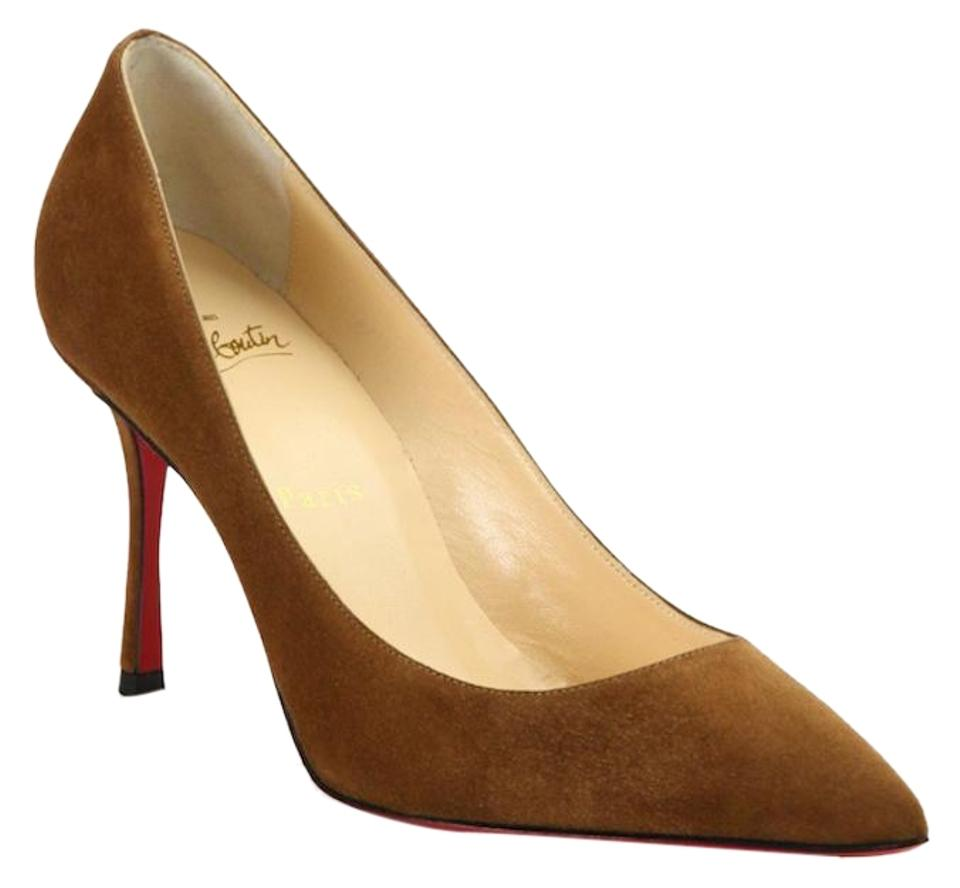 8003984f9ee8 Women s Brown Christian Louboutin Shoes - Up to 90% off at Tradesy