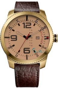 Tommy Hilfiger Tommy Hilfiger Male Casual Watch 1791015 Gold Tone Analog