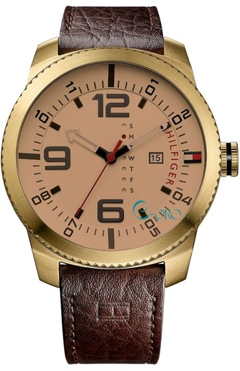 Preload https://item2.tradesy.com/images/tommy-hilfiger-gold-tone-male-casual-1791015-analog-watch-2287856-0-0.jpg?width=440&height=440