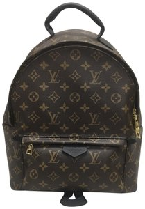 Louis Vuitton Lv Palm Springs Canvas Mm Backpack