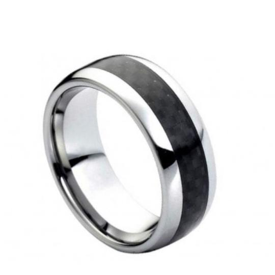 Preload https://img-static.tradesy.com/item/22878750/black-silver-with-inlaid-design-ring-0-0-540-540.jpg