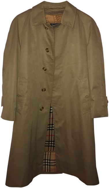 Preload https://img-static.tradesy.com/item/22878778/burberry-olive-green-coat-size-os-one-size-0-1-650-650.jpg