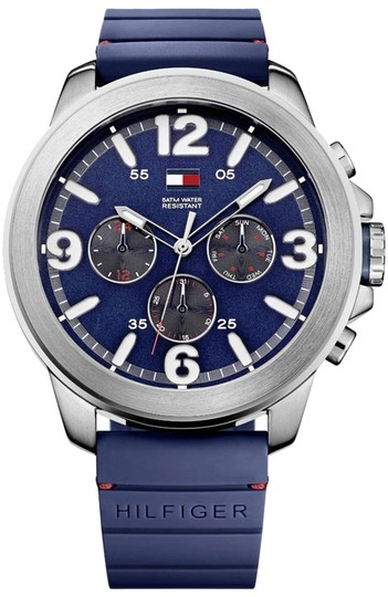 Tommy Hilfiger Tommy Hilfiger Male Casual Watch 1791096 Silver Analog