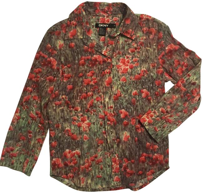 Preload https://img-static.tradesy.com/item/22879112/dkny-watercolor-floral-button-down-top-size-2-xs-0-1-650-650.jpg