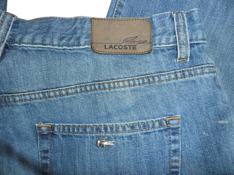 f65f50f5 Lacoste Medium Wash 48x30 Relaxed Fit Jeans Size 36 (14, L)