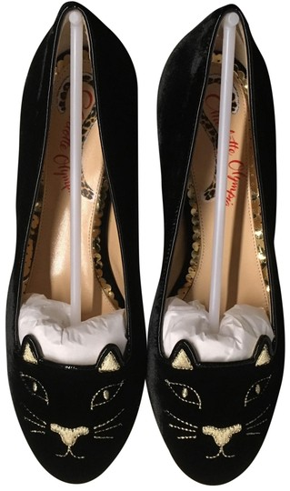 Charlotte Olympia black Flats Image 0