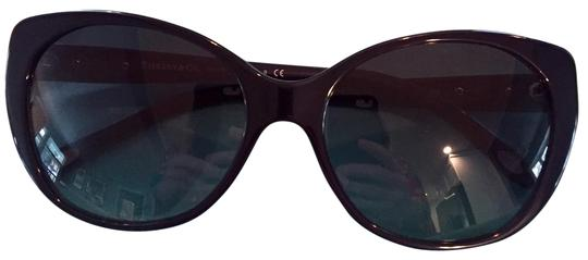 3aea15f5459 tiffany   co blue with mother of pearl and silver heart cateye sunglasses  49% off re... TRADESY