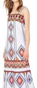 multi Maxi Dress by Tory Burch