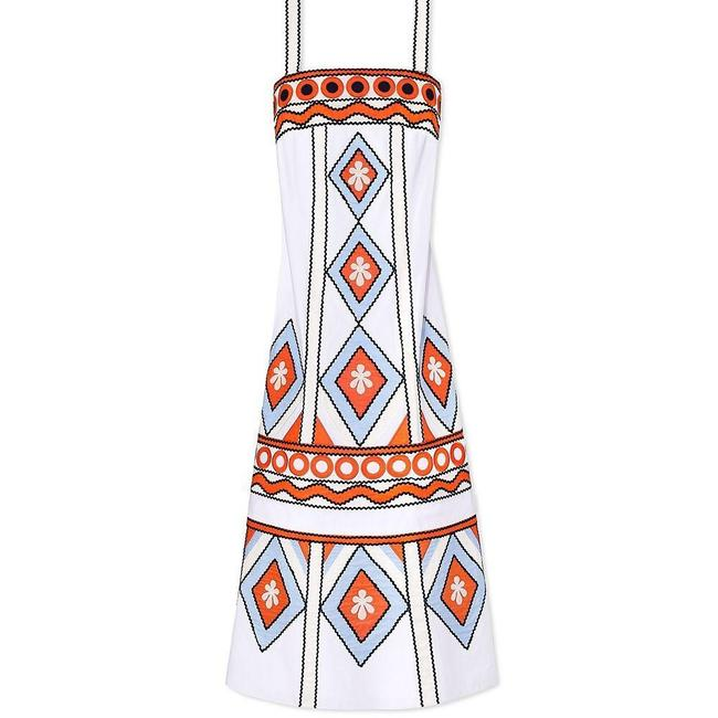 multi Maxi Dress by Tory Burch Image 3