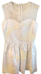 JC de Castelbajac short dress white on Tradesy