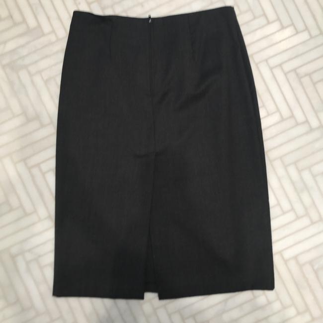 United Colors of Benetton stretch wool suiting pencil skirt Image 1