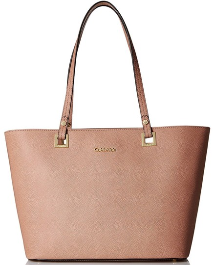 Preload https://img-static.tradesy.com/item/22879816/calvin-klein-deep-blush-saffiano-leather-tote-0-2-540-540.jpg