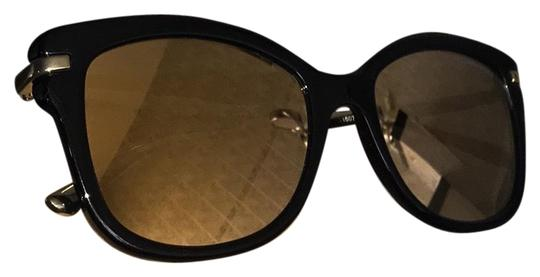 ad4da74c191 michael kors black frame gold mirror lens and arms mk2047 sunglasses 52%  off retail. TRADESY