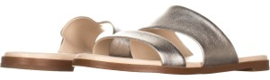 Cole Haan Silver Sandals