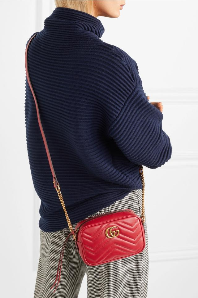 c285a298b2b6 Gucci Marmont Marmont Double G Cross Body Bag Image 11. 123456789101112
