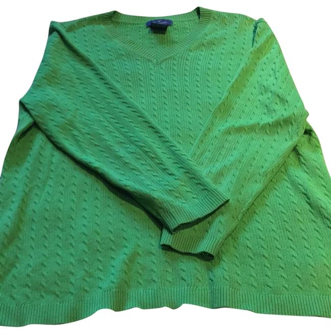 Preload https://img-static.tradesy.com/item/22880118/faconnable-green-sweaterpullover-size-10-m-0-1-650-650.jpg