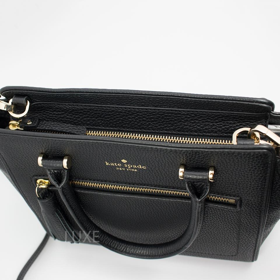 d1d031ad0554 Kate Spade Crossbody Small Allyn Chester Street 098687021609 Satchel in  Black Image 5. 123456