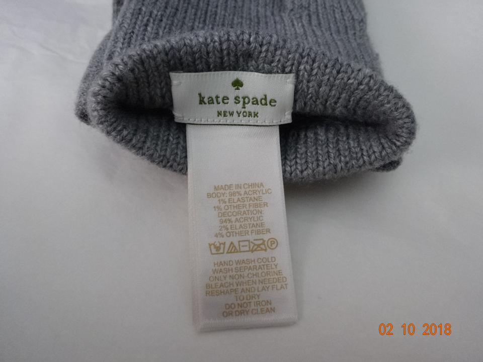 3fab2491fbaa3 Kate Spade kate spade Dorothy Bow Beanie and Gloves gift set Image 6.  1234567