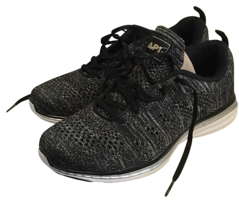 Athletic Propulsion Labs Gray Apl Techlooom Pro Sneakers Silver Gold Black Sneakers Sneakers Pro 8eb20f
