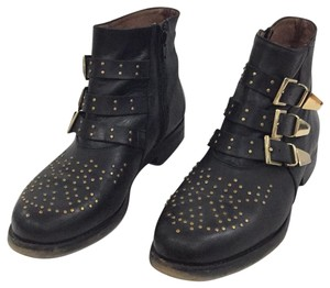 ASOS black gold Boots