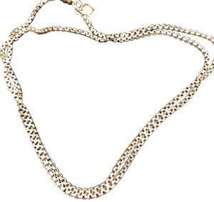David Yurman Box chain with an accent of 14k gold DY detail