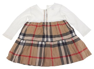 Burberry Burberry Baby's Nova Check Cotton Skirt & Dress Suit, Size 4 (19344)