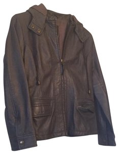 Joie grey Leather Jacket