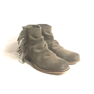 Seychelles Suede Fringed taupe Boots