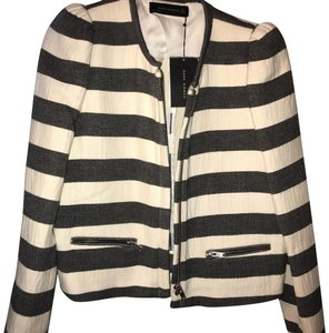Zara Black & White Jacket