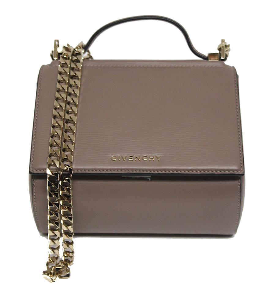 86912ddd09 Givenchy Pandora Box Chain Mastic Leather Shoulder Bag - Tradesy