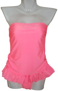 Gossip NWT Gossip Coral Orange One Piece Modest Swimsuit Removable Straps