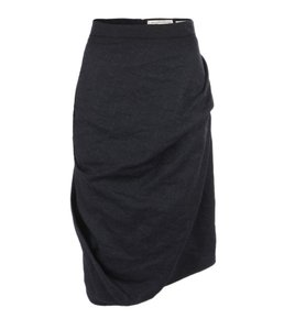c42dfe990c17 AllSaints Tailoring Pencil Wool Suiting Skirt Black
