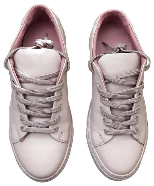 Dusty Pink Leather Low Top Sneakers Size US 7 Regular (M, B) Dusty Pink Leather Low Top Sneakers Size US 7 Regular (M, B) Image 1