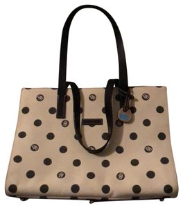 Dooney & Bourke Tote in cream with black accents