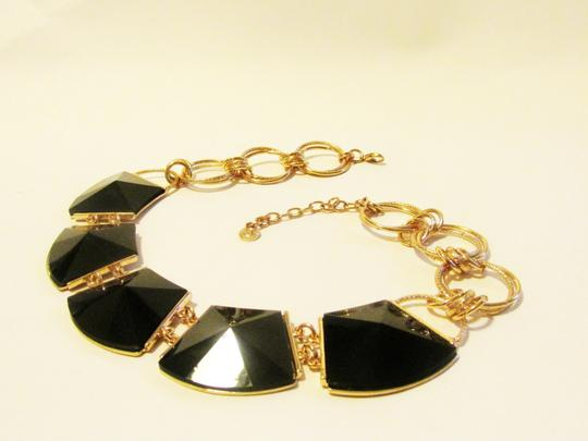 R.J. Graziano R. J. Graziano 16 Inch Black Onyx Statement Necklace with 3 Inch Extender Image 3