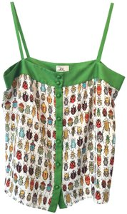 MILLY Top Green/Multi