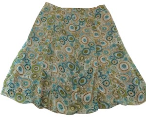 Allison Taylor Mini Skirt green
