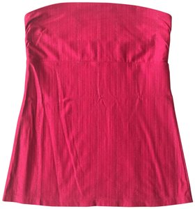 Express Date Night Sparkle Night Out Stretchy red Halter Top