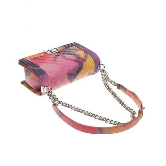 Chanel Medium Flower Power Le Boy Flap Shoulder Bag
