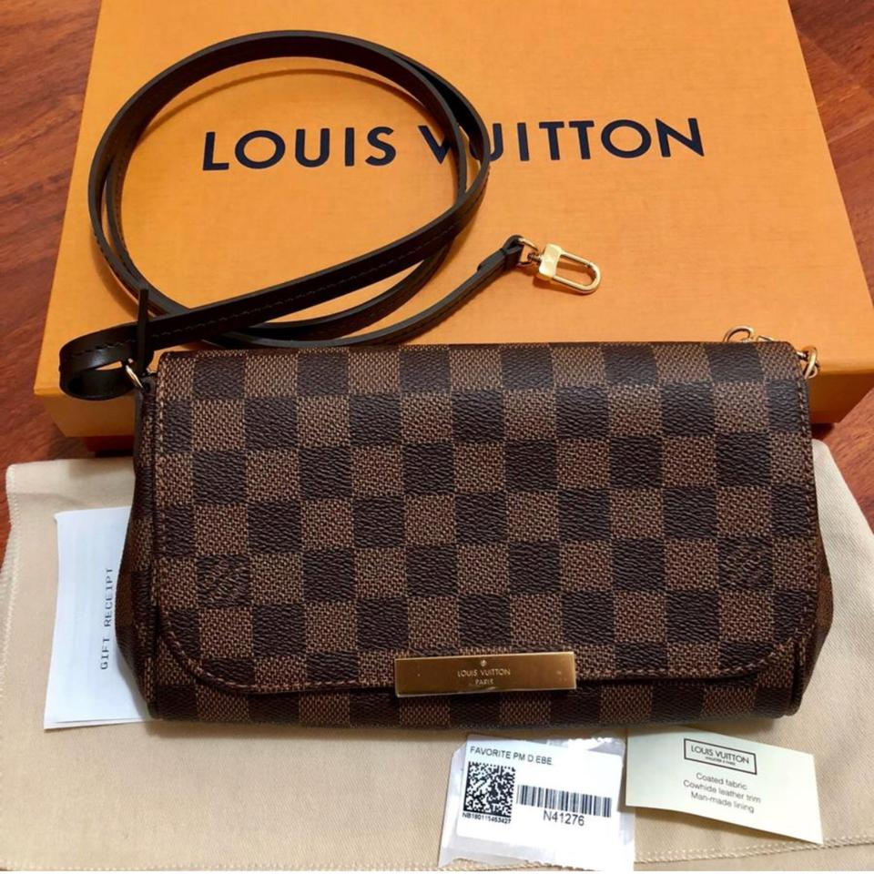 Louis Vuitton Favorite New 2018 Pm Damier Ebene Limited N41276 Brown Canvas  Clutch - Tradesy 637731b5c99cb