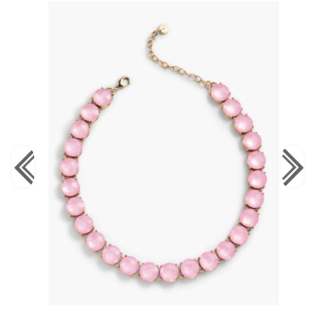 Item - Pink Faceted Necklace