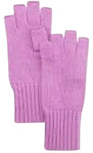 Portolano Portolano Fingerless Soft Cashmere Knit Gloves Bright Lilac ( O/S )