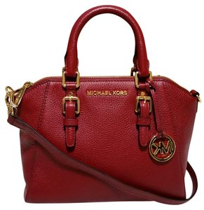 Michael Kors Ciara Satchel Cross Body Bag
