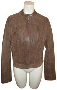 Levi's Leather Distressed Moto Riding Motorcycle Jacket