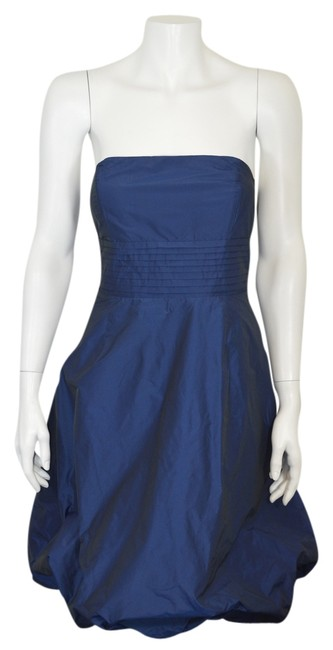 Preload https://item4.tradesy.com/images/zara-navy-blue-basic-woman-s-strapless-bubble-dk-above-knee-night-out-dress-size-10-m-2288398-0-0.jpg?width=400&height=650